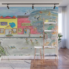 Happy Town V Wall Mural