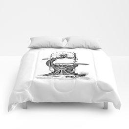 Vintage Band Saw Comforters
