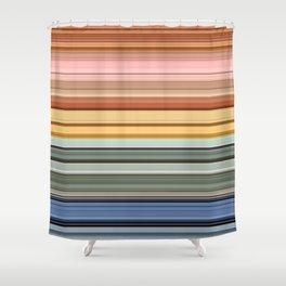 Stripes part 5 #eclecticart Shower Curtain