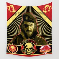 propaganda Wall Tapestries featuring Propaganda by NB1984