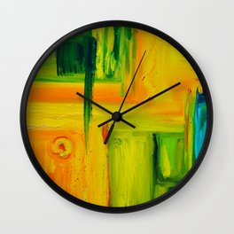 Primaries Wall Clock