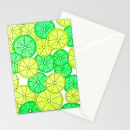 Lemons and Limes Stationery Cards