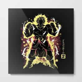 The Legendary Broly Metal Print