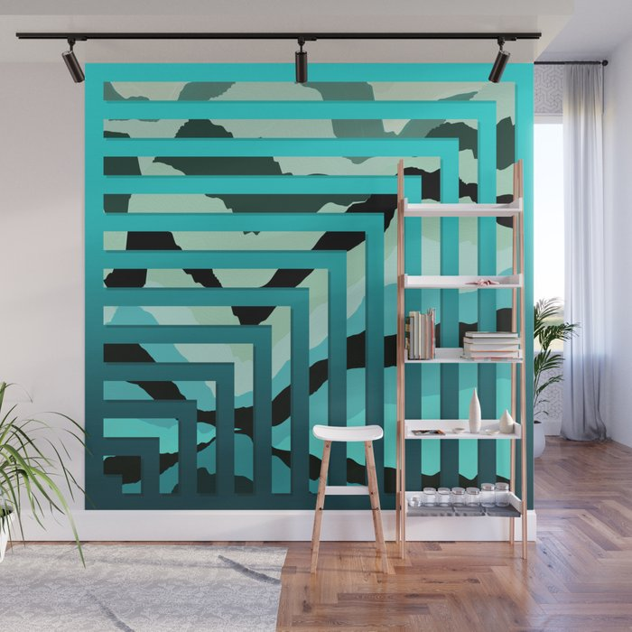 TOPOGRAPHY 2017-007 Wall Mural