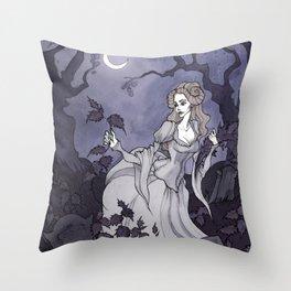 The Wild Swans (Eliza) Throw Pillow