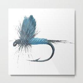Blue Dun Dry Fly Metal Print