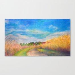 Summer's End Ada Hayden Canvas Print