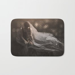 Dreaming of a white wedding Bath Mat