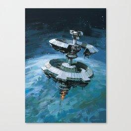 Orbital Beam Platform Canvas Print