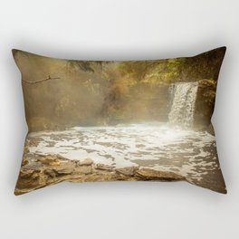 Thermal Waterfall- Wai O Tapu Rectangular Pillow