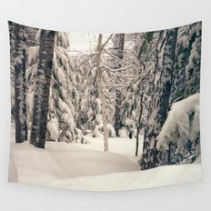 Winter Woods 2 Wall Tapestry