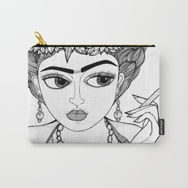 Ode to Frida Carry-All Pouch