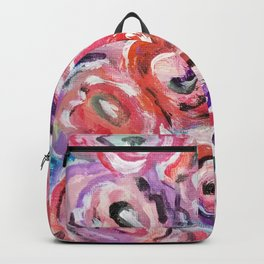 Flower painting Backpack