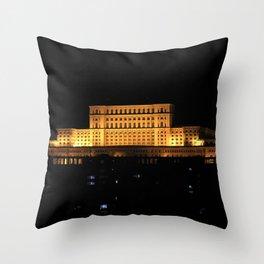 Bucharest III Throw Pillow