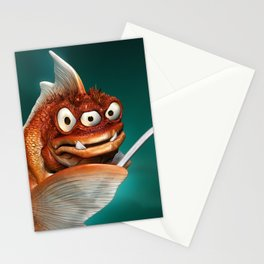 Evil Fish Stationery Cards