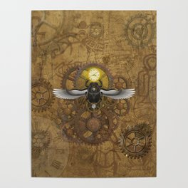 Egyptian Steampunk Poster