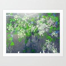 FlowerPower Fantasy 9-A Art Print