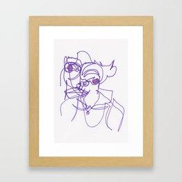 Disintegral #2744 Framed Art Print