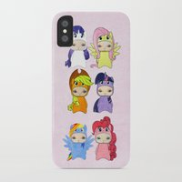 mlp iPhone & iPod Cases featuring A Boy - Little Pony by Christophe Chiozzi
