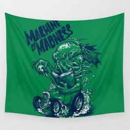Machine of Madness Wall Tapestry