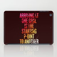 lettering iPad Cases featuring Lettering 002 by Noem9 Studio