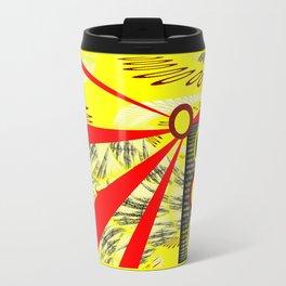 Yellowrange Travel Mug