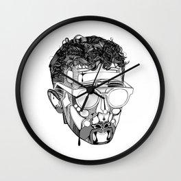 Self Portrait Wall Clock