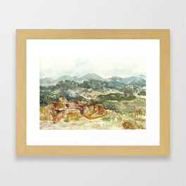 Live Earth Farm, Watsonville, CA Framed Art Print