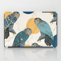 mandie manzano iPad Cases featuring Night Owl Polka by Paula Belle Flores
