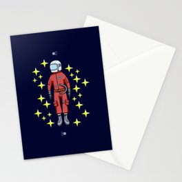 USSR cosmonaut Stationery Cards
