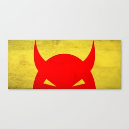 Halloween Devil Canvas Print