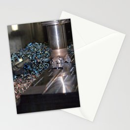 milling machine Stationery Cards