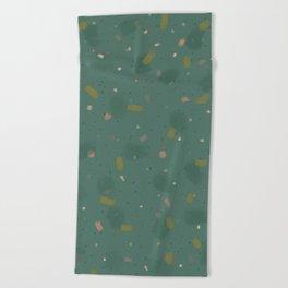 Vintage Pattern Beach Towel