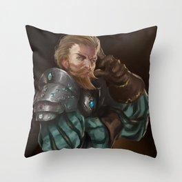 Taryon Darrington Throw Pillow