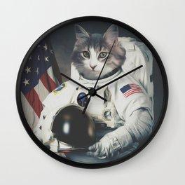 astro cat usa Wall Clock