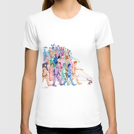 Everyone and Their Dog Pun T-shirt