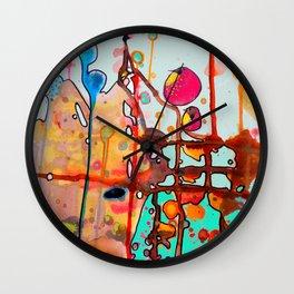 alchimie Wall Clock