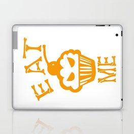 Eat me yellow version Laptop & iPad Skin