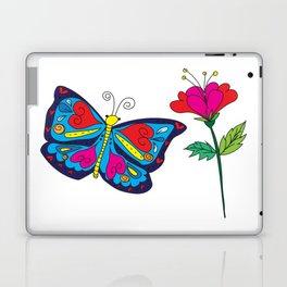 Love like a butterfly Laptop & iPad Skin