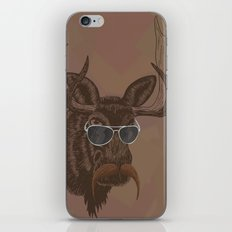 Mr. Moose iPhone & iPod Skin