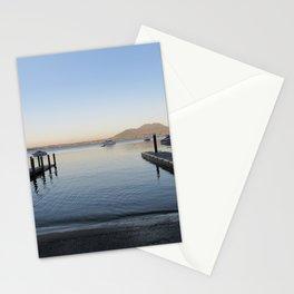 Sunset at Lake Taupo Stationery Cards