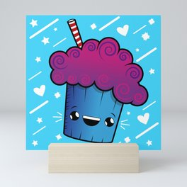 Cute Kawaii Ice Cream Drink Mini Art Print