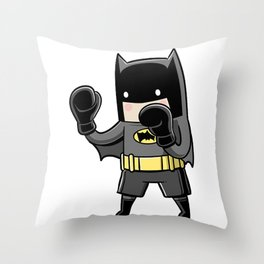 Parody Superhero Throw Pillow