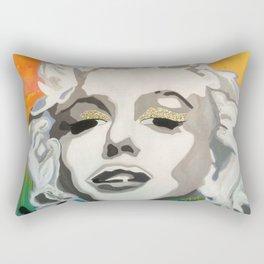 Marilyn Blonde Bombshell Rectangular Pillow