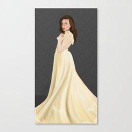 A Victorian Lady Canvas Print