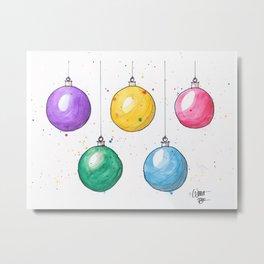 Hangin' Balls Metal Print