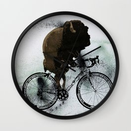 BUFF RIDER Wall Clock
