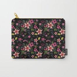 Nightfall Floral Carry-All Pouch
