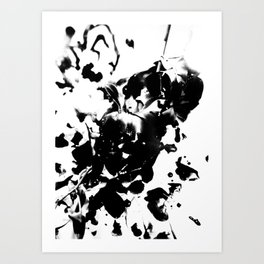 Look What the Cat Dragged In Art Print