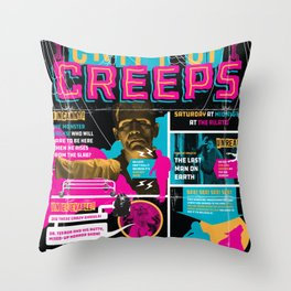 Spook Show Tribute Poster 04 Throw Pillow